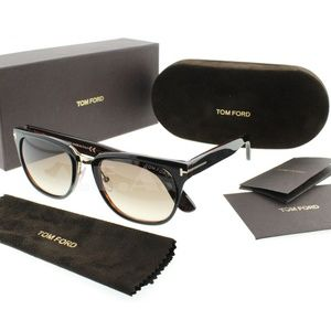 Tom Ford Sunglasses Brown/Gold Tone w/Brown Lens